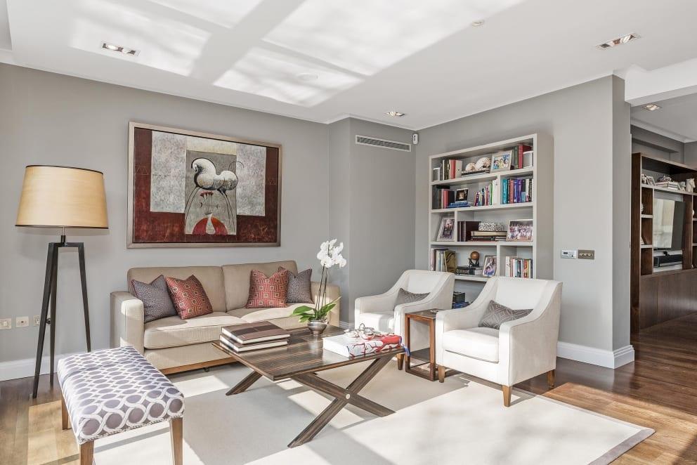 Gray Lounge Reception Den
