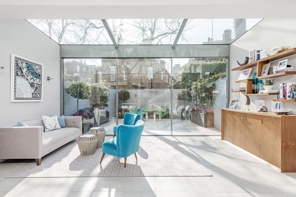 Skylight Extension Sun Room Sitting Room