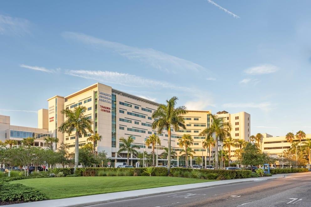 Exterior Sarasota Memorial Hospital Helmuth Landscaping Pros