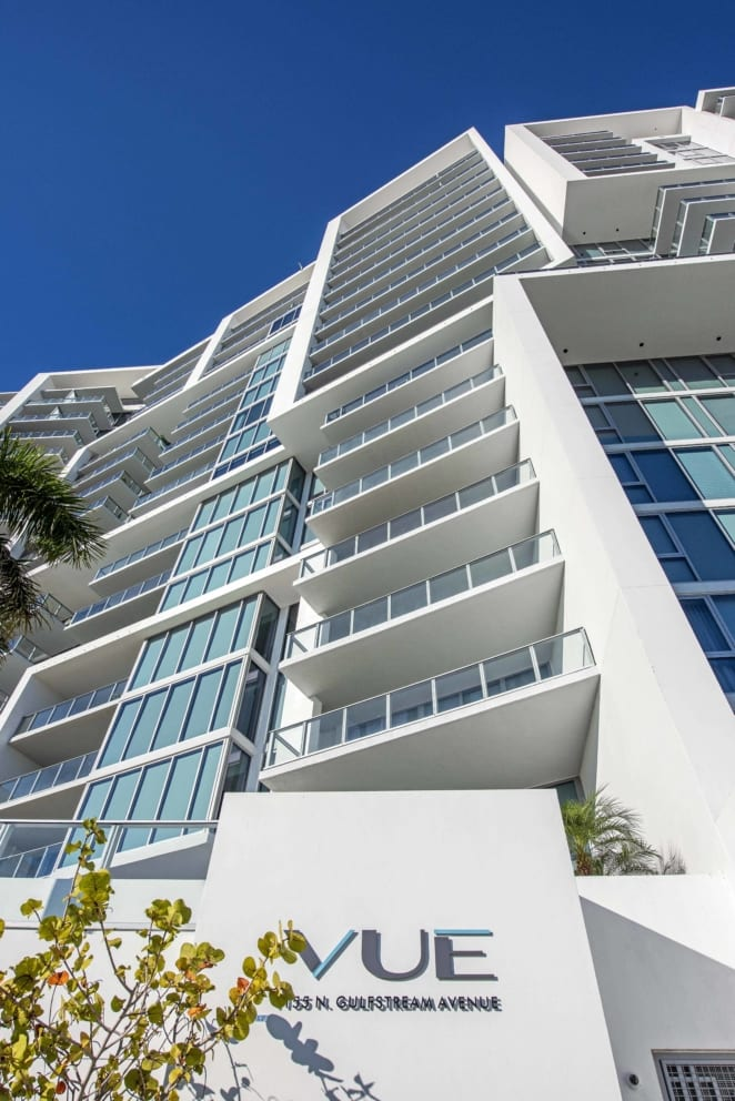 Vue Sarasota Architecture Pedestrian View