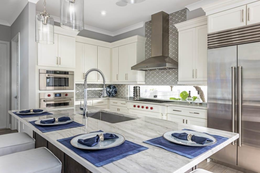Linda Mixon Marble Top Kitchen