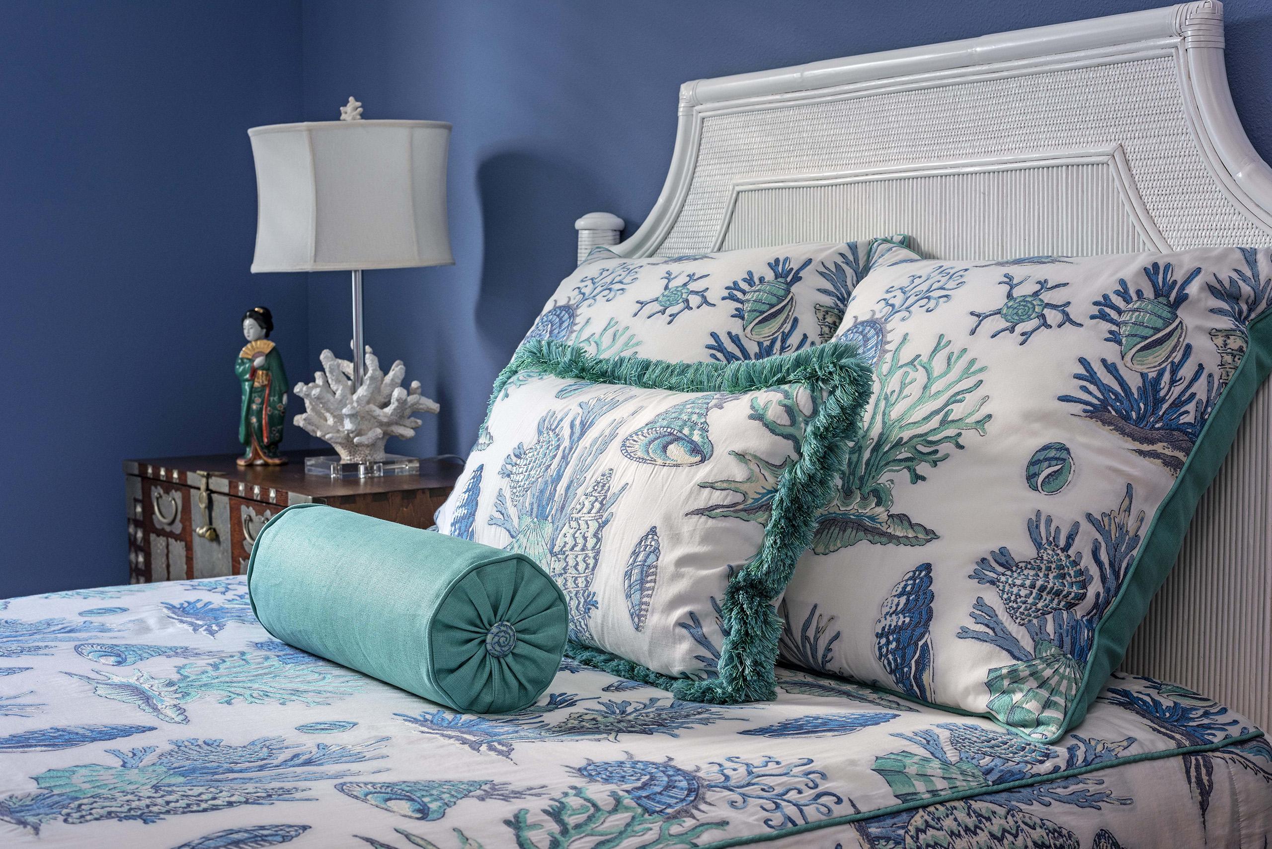 Linda Mixon Coral Bed Spread