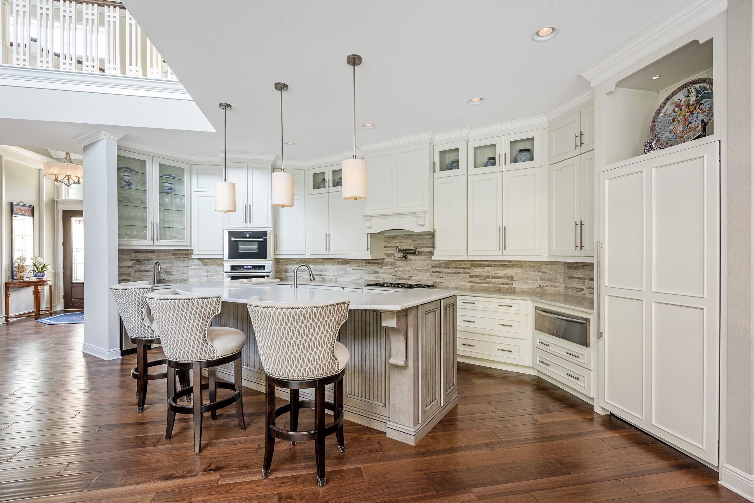 Linda Mixon Kitchen White Cabinets