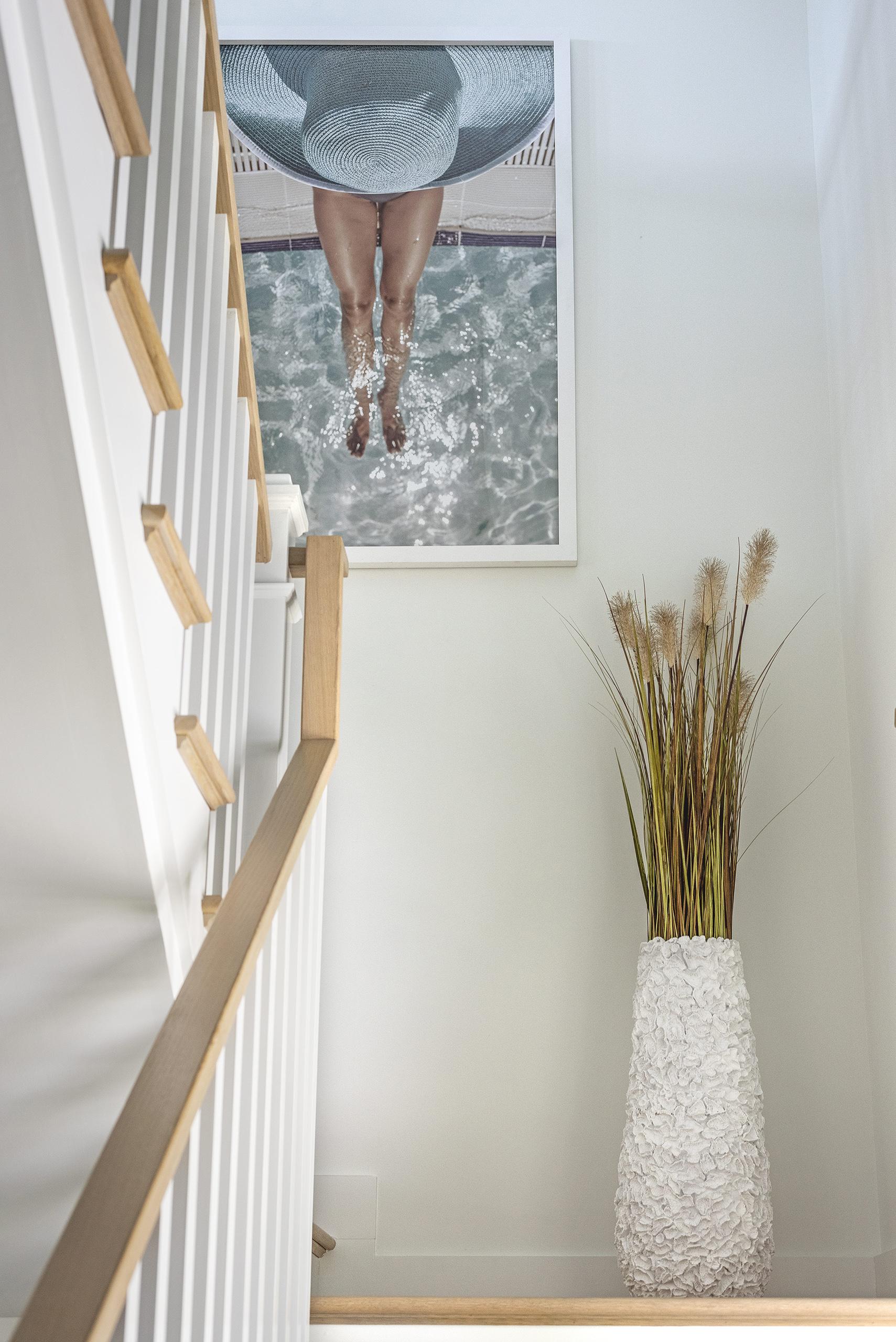 Linda Mixon Stairs Floral Vase