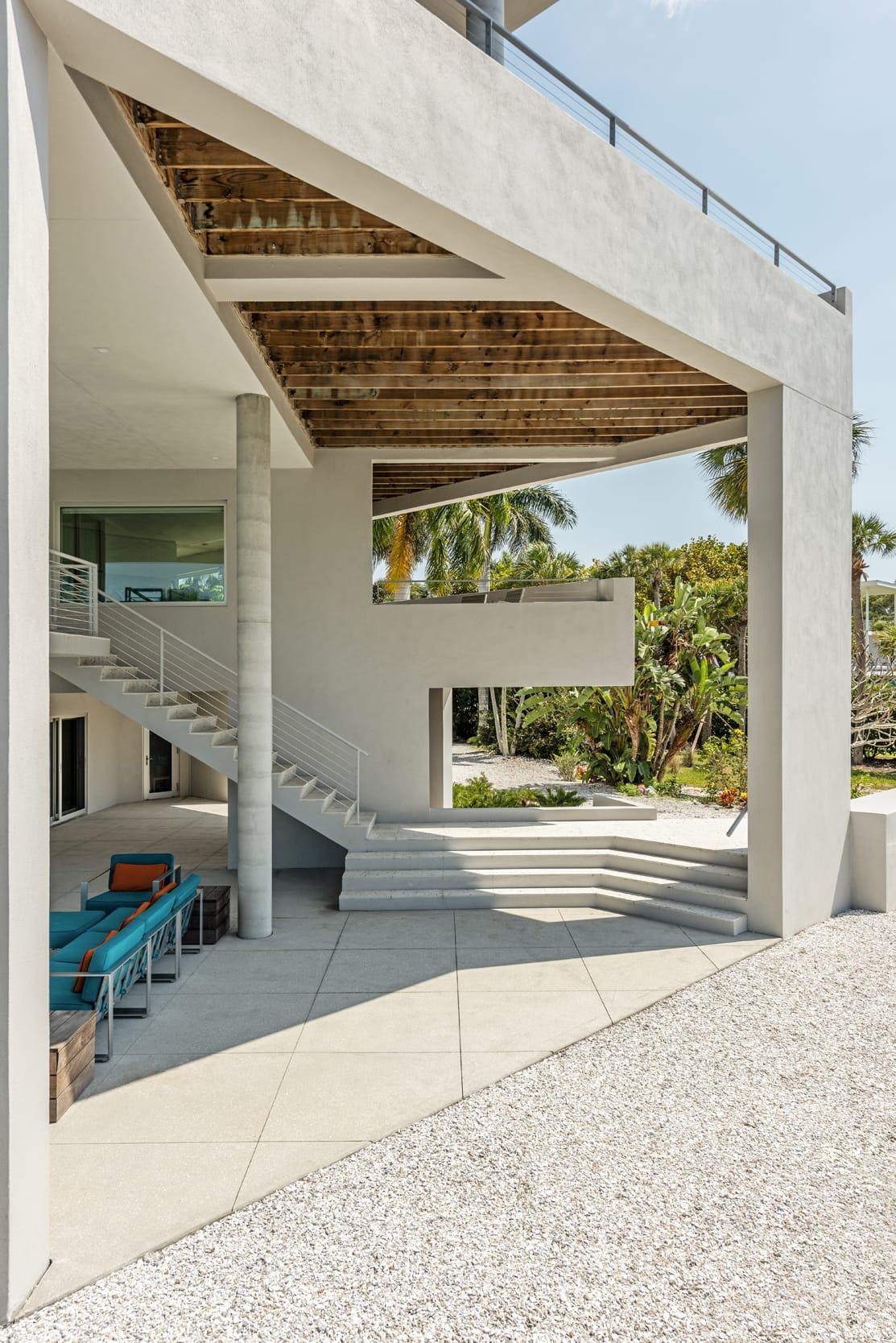 Carl Abbott Balcony Rafters Shape