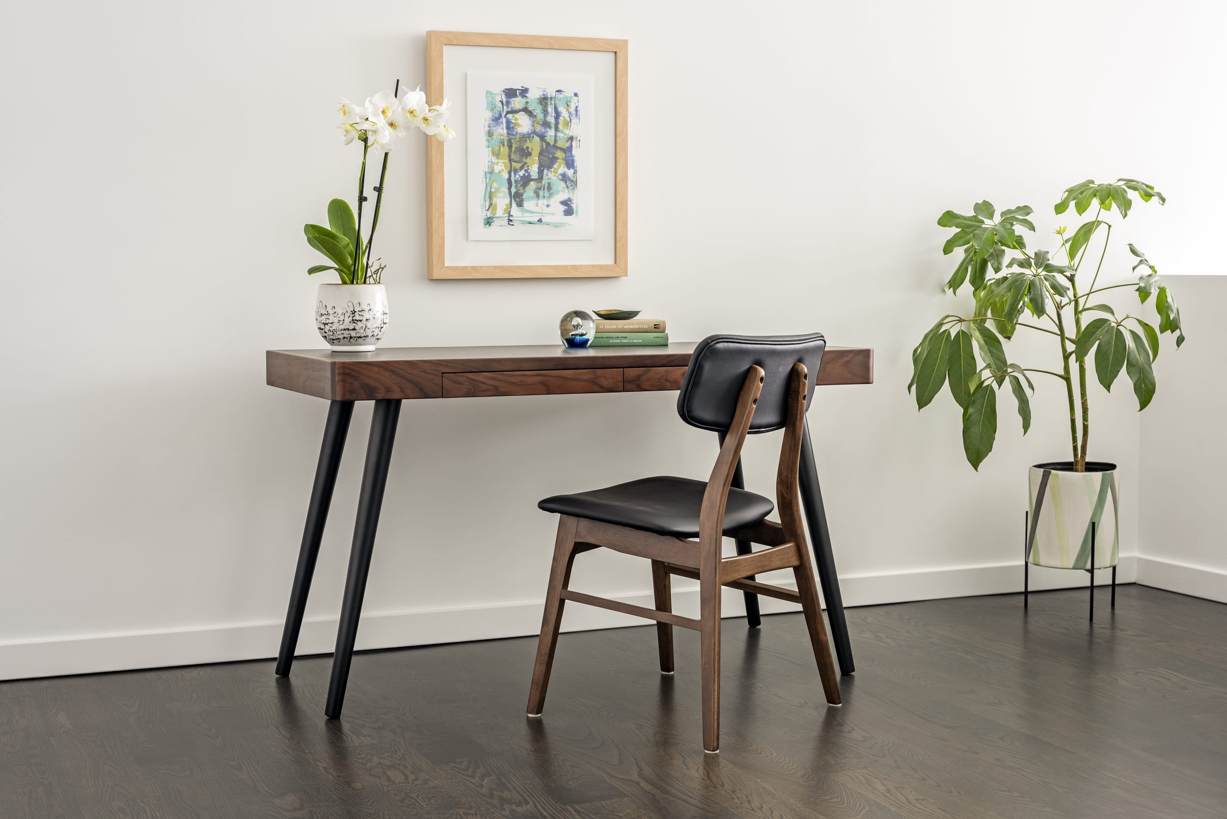 Holly Dennis Risdon Desk Office Plants