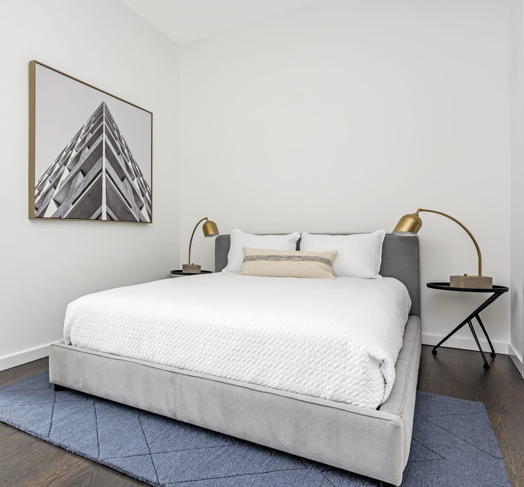 Holly Dennis Risdon Guest Bedroom Gold
