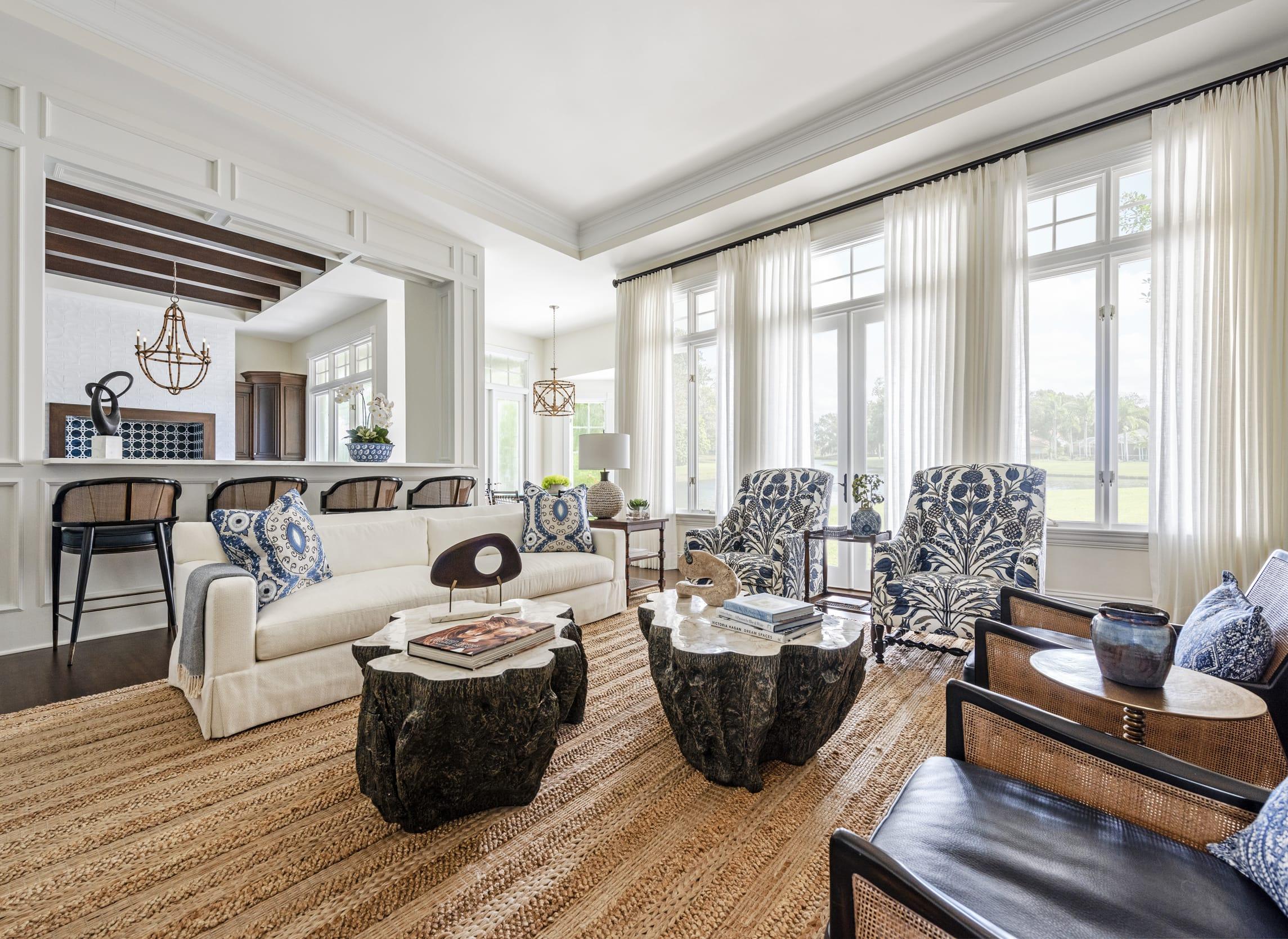 Jeffrey Fisher Home Livingroom Tree Trunk Table Top