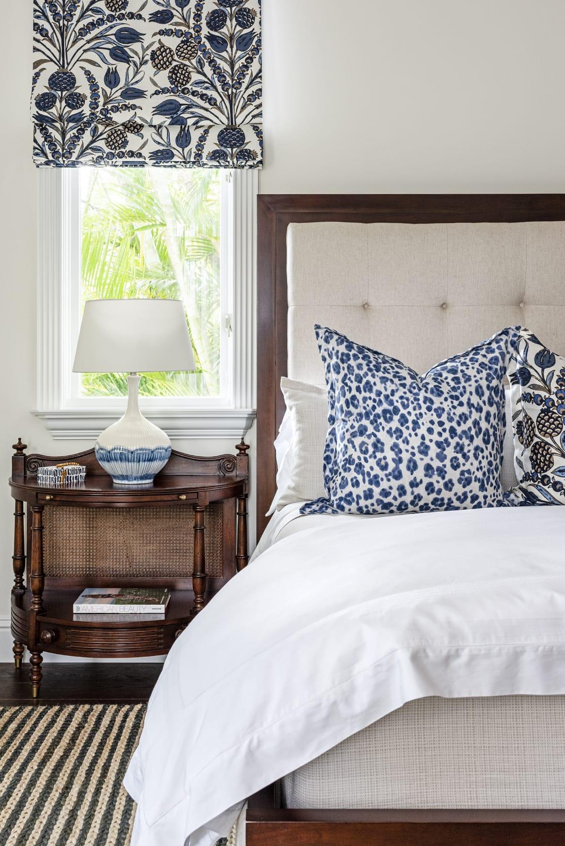 Jeffrey Fisher Home West Indies Styled Master Bed Dark Wood